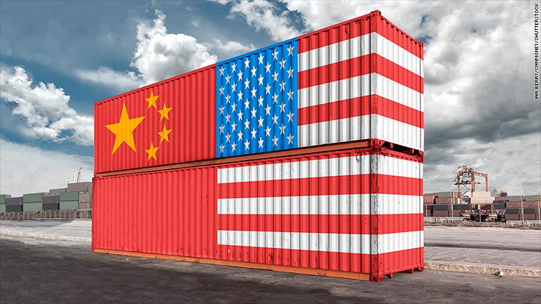 الحرب التجارية بين الصين والولايات المتحدة