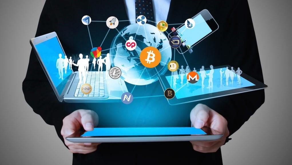 المواقع الإلكترونية لتداول العملات الرقمية
