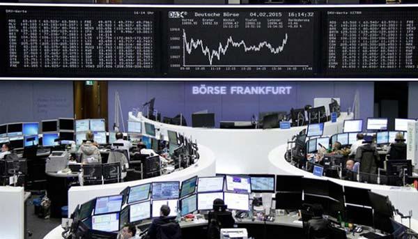 تداولات الاسهم الاوروبية